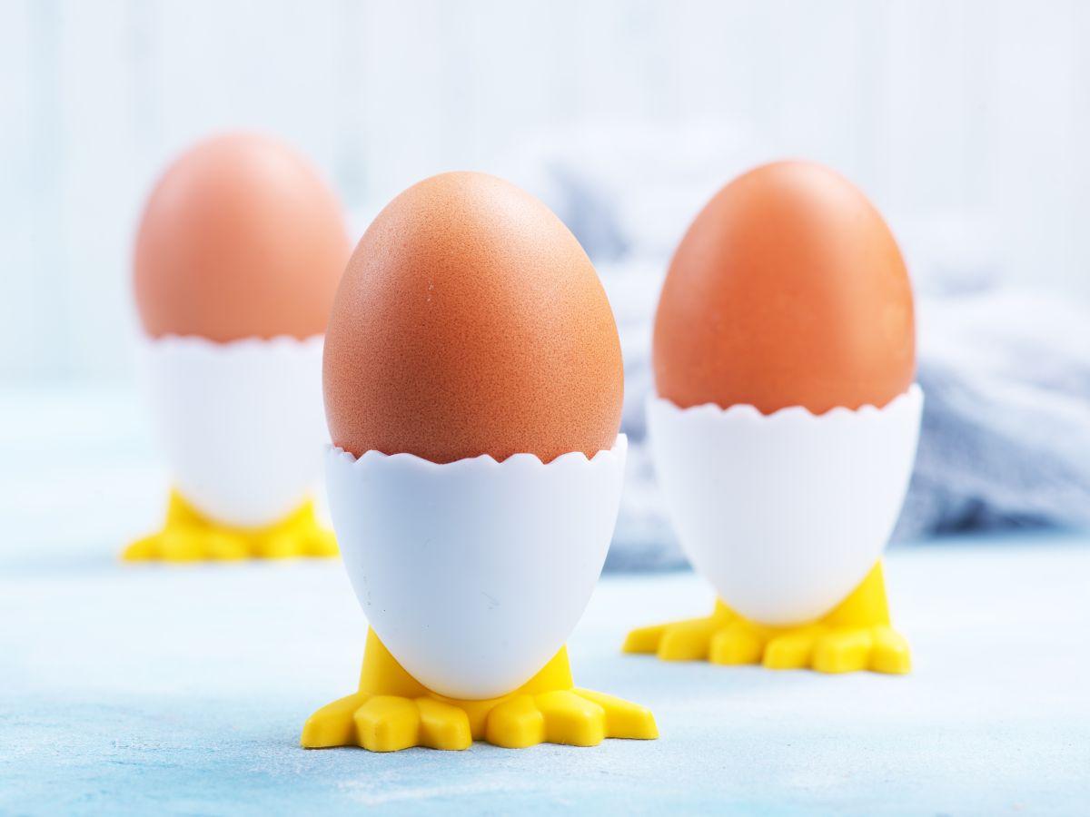 trzy jajeczka